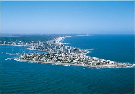 punta del este in the winter