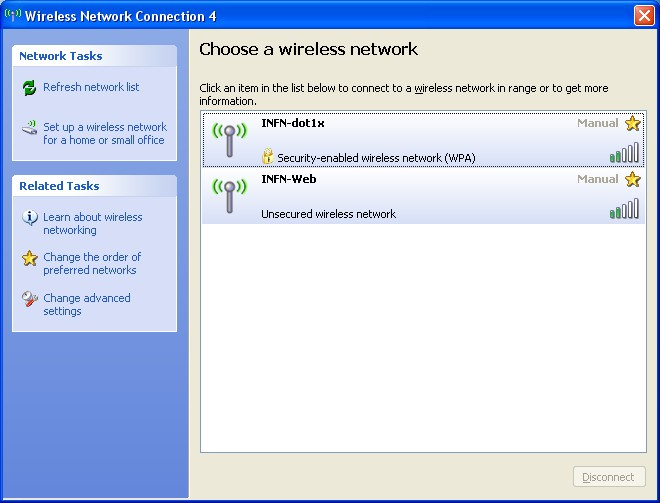 find available wireless networks