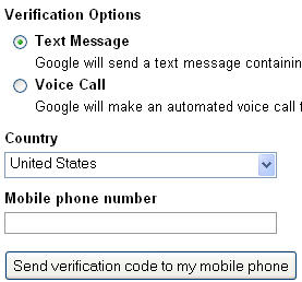 new gmail verification process