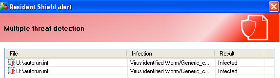 delete virus from thumb drive
