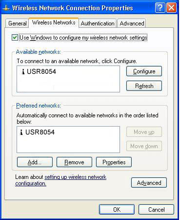 windows xp connect to wireless