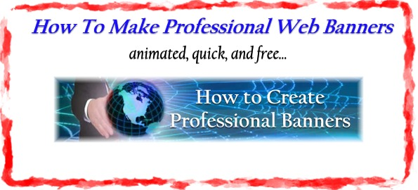How To Make a Web Banner